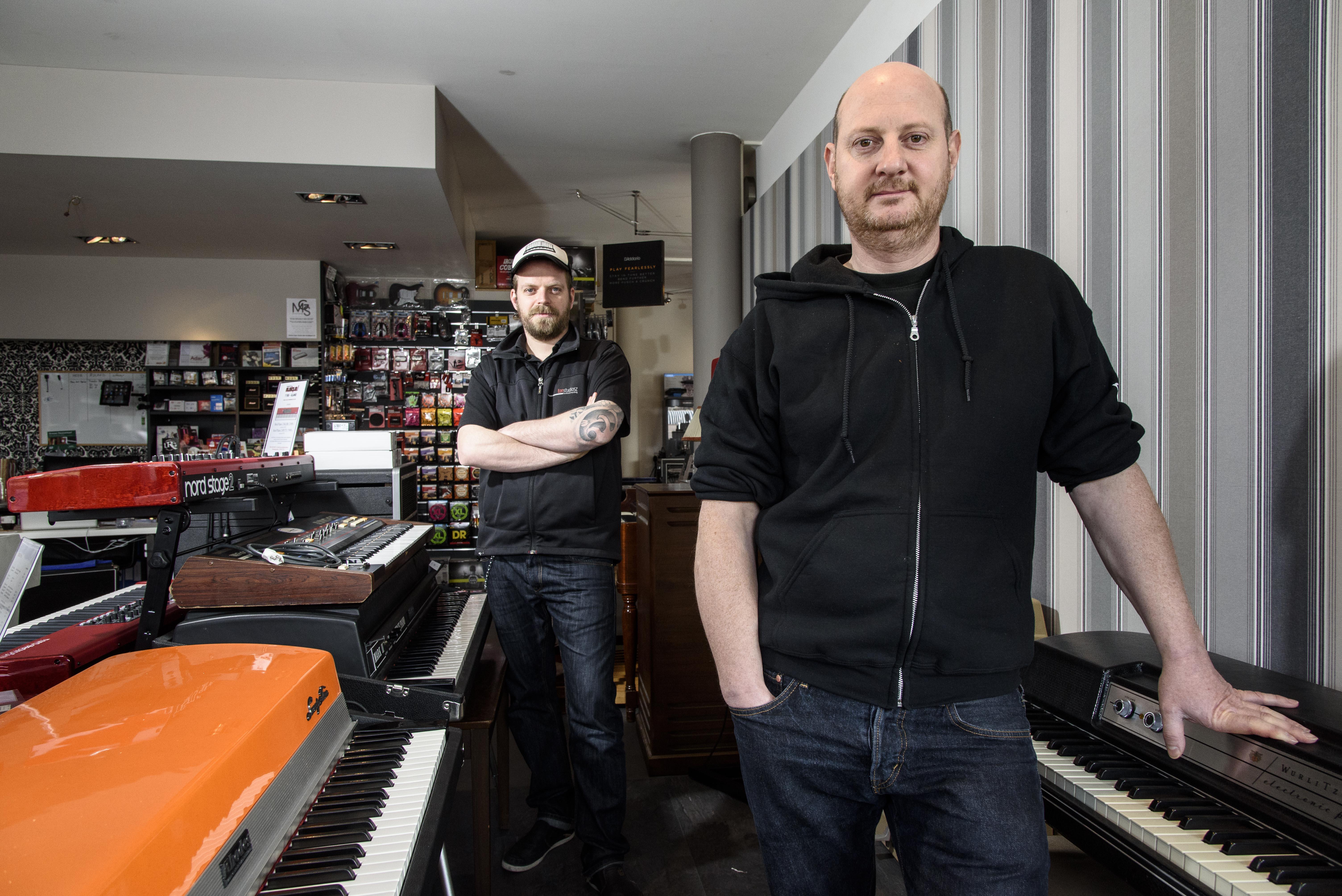 Martin Mulberger et Laurent Quinche,