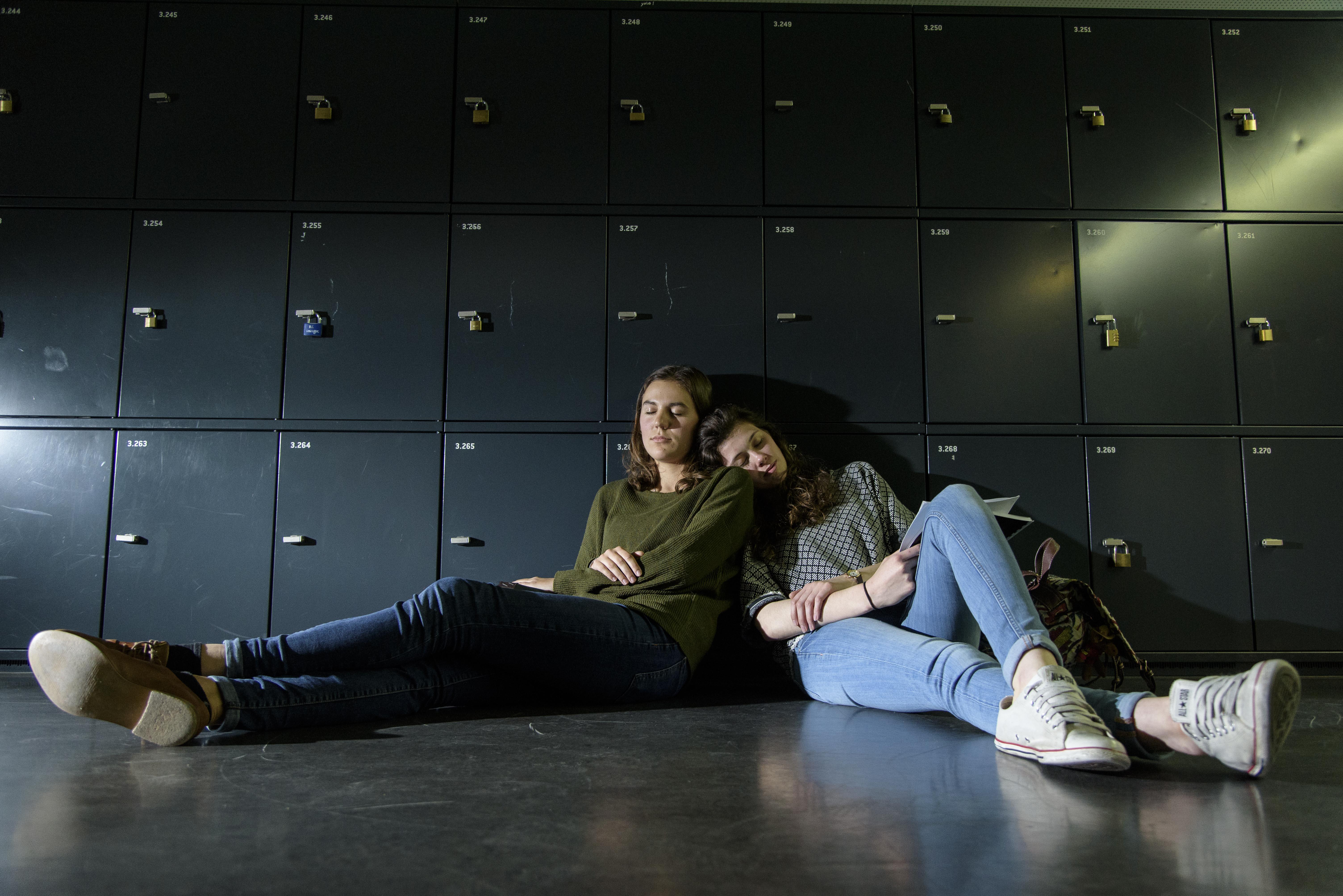Aline Sadowski et Léa Ruffieux,