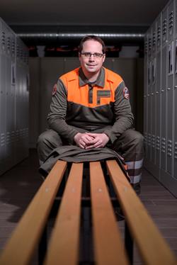 Marc Dumartheray, commandant