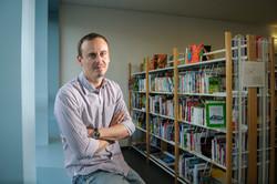 Cédric Rossier, directeur d'école