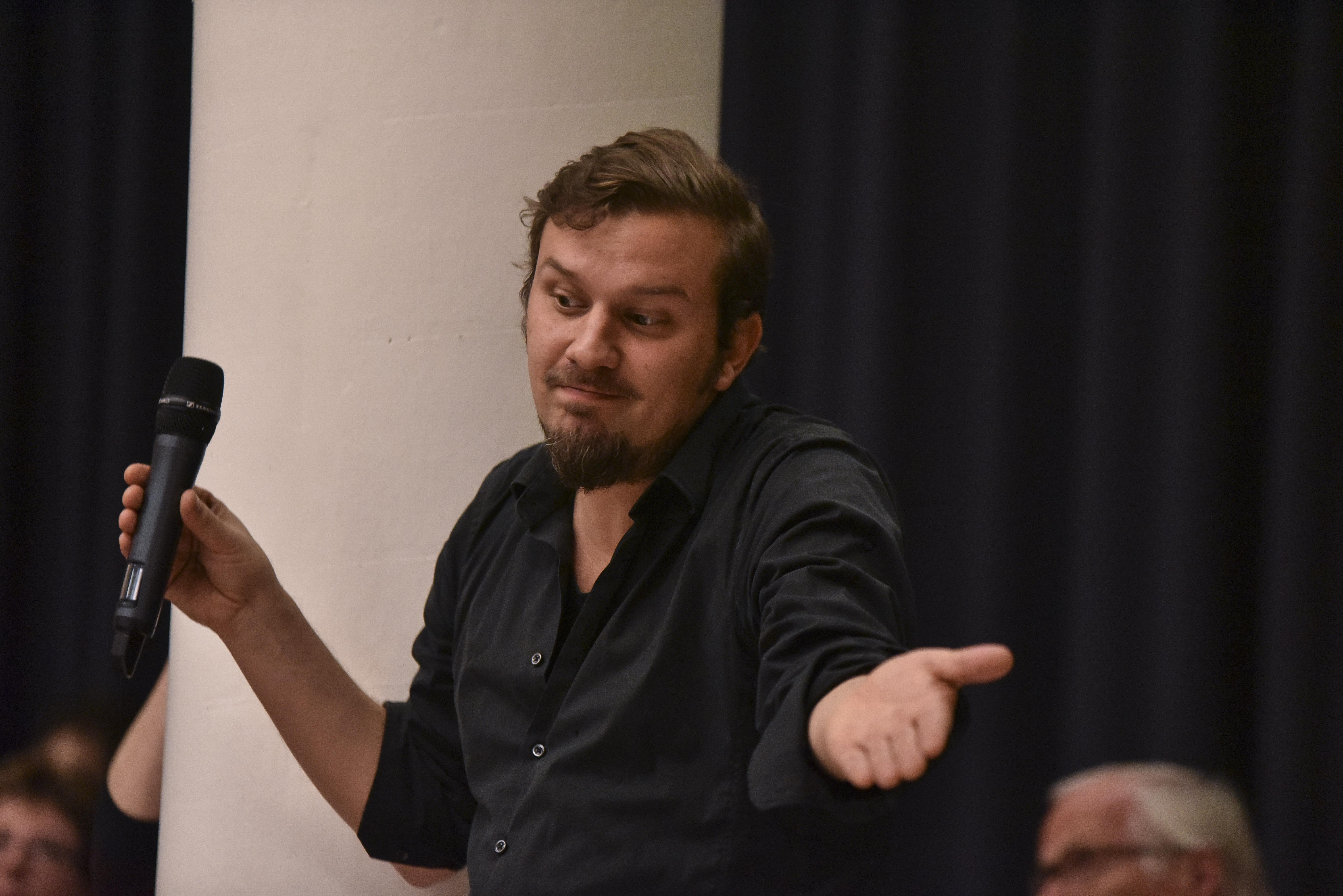 Rodolphe Haener, journaliste.