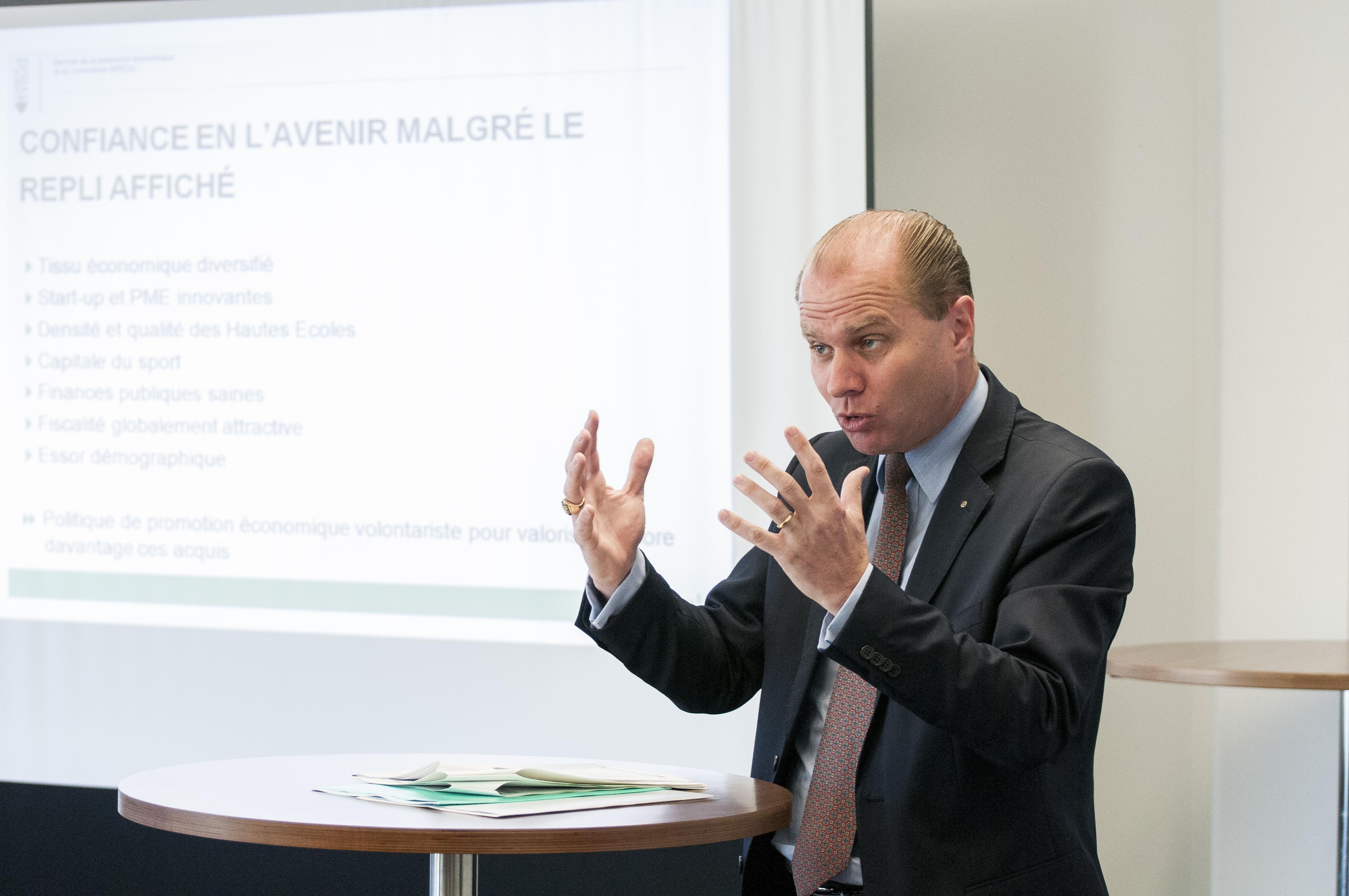 Philippe Leuba, Conseiller d'Etat.