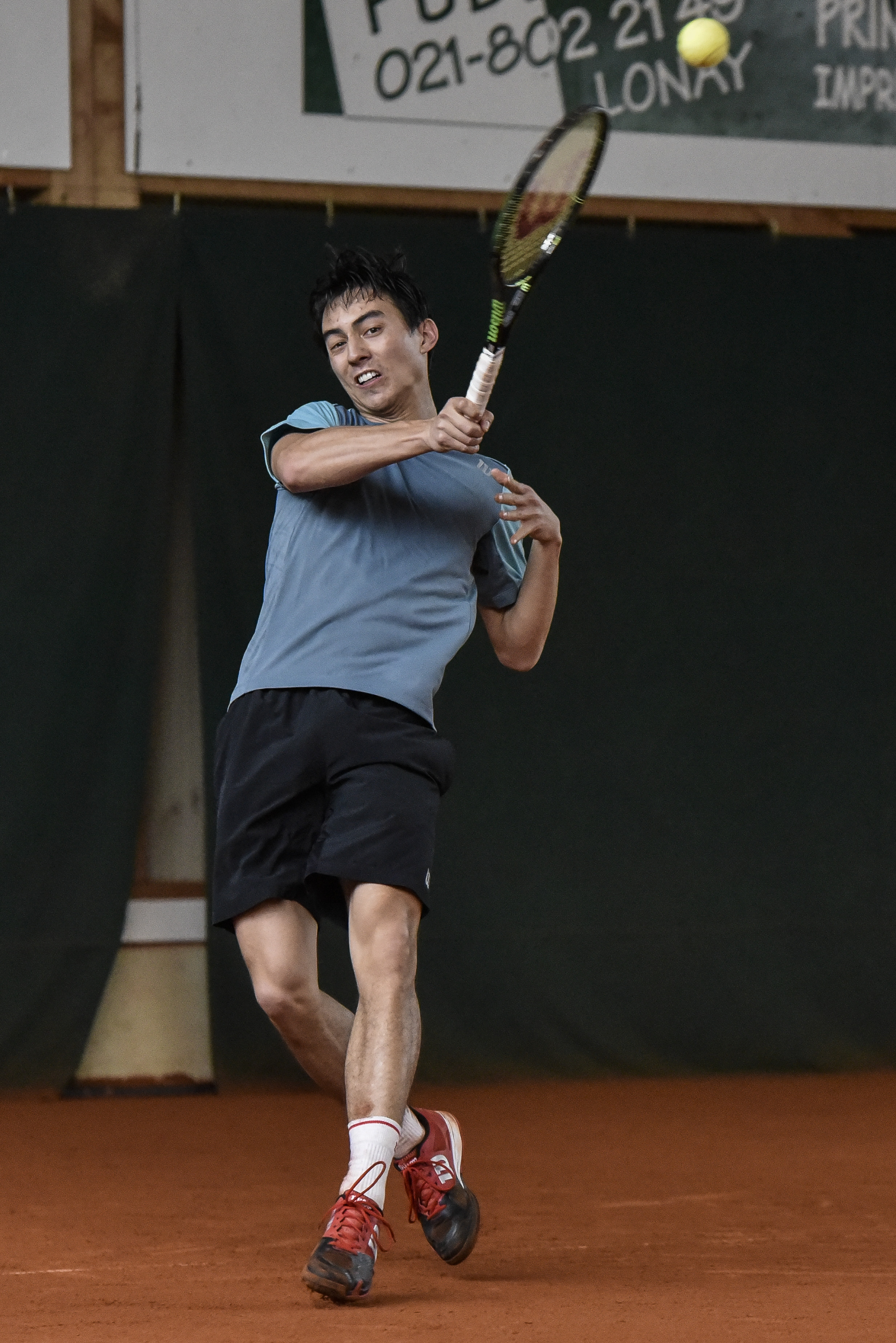 Antoine Baroz, tennisman