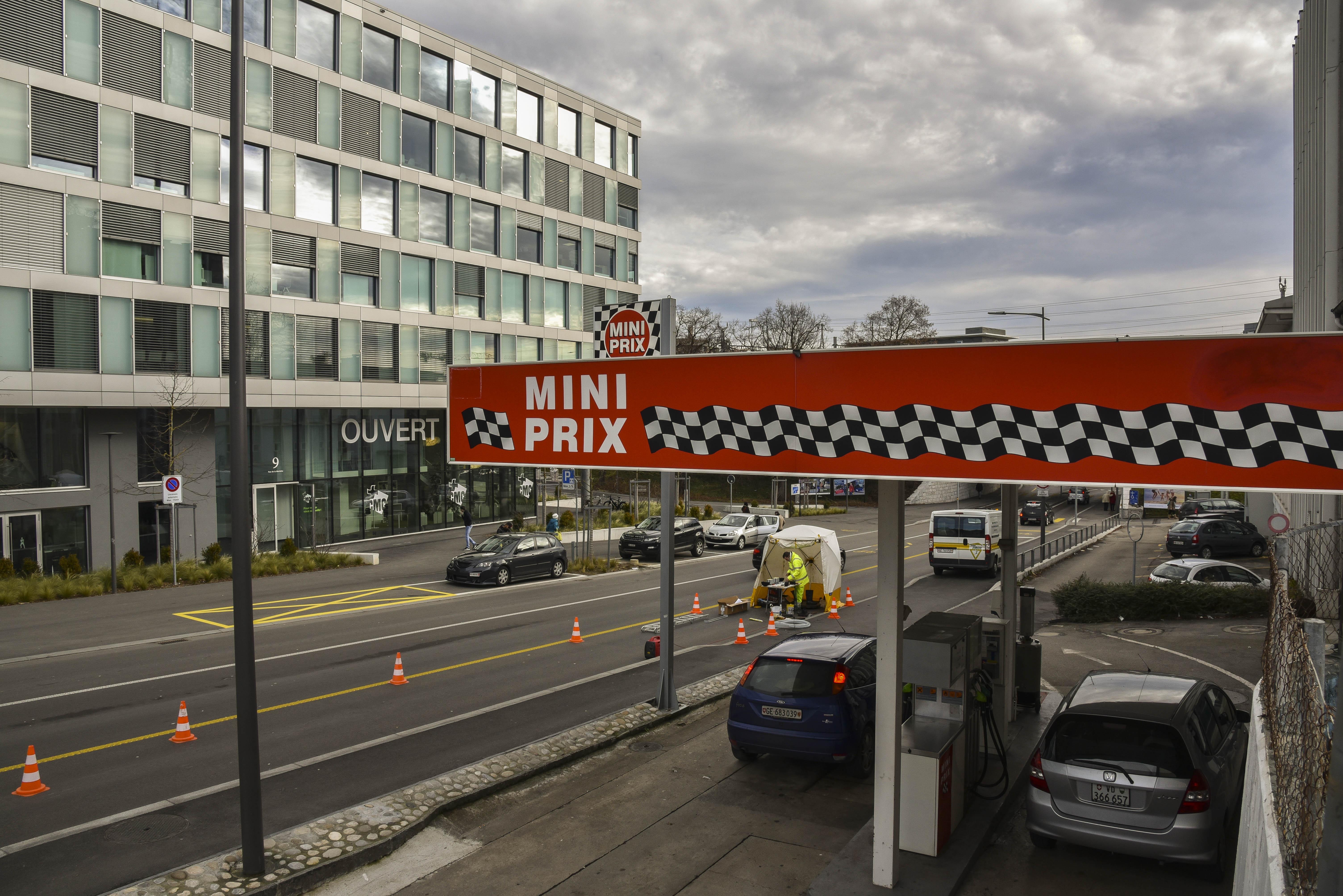 Station Mini Prix, Nyon