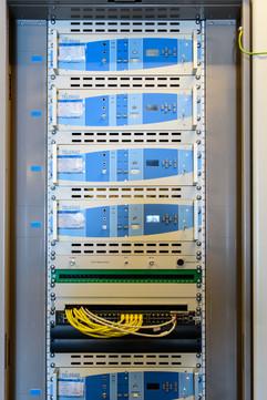 ici sont branchés les différents systèmes de contrôle.