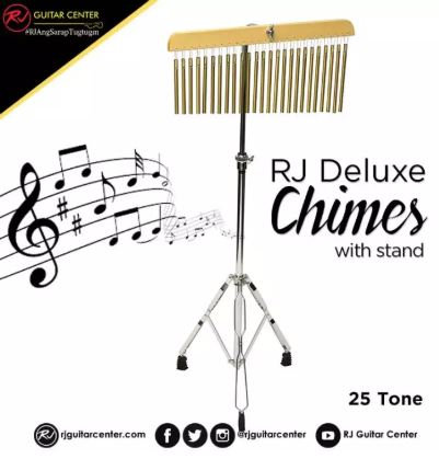 RJ Deluxe Chimes 25-Tone with Stand