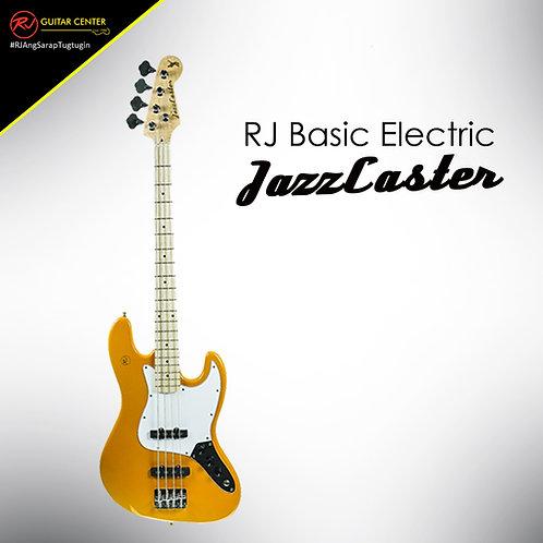 RJ Basic Electrics - Jazzcaster Bass Yellow