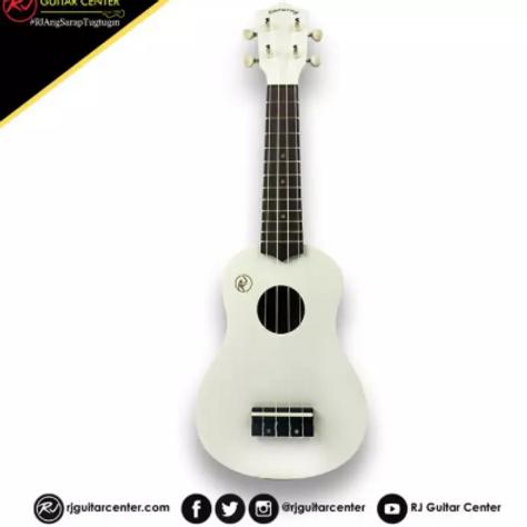 RJ Deluxe Ukulele Boracay - White