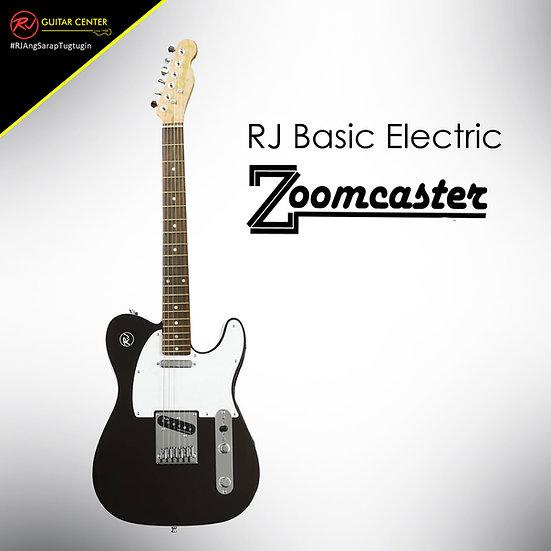 RJ Basic Electrics - Zoomcaster Electric Guitar Matte Black