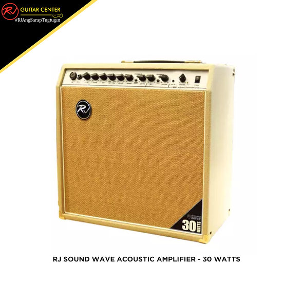 Rj Sound Wave Acoustic Amplifier - 30 Watts
