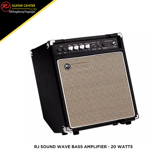 RJ Sound Wave Bass Amplifier - 20 Watts