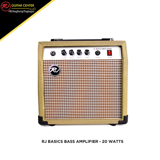 RJ Basics Bass Amplifier - 20 Watts