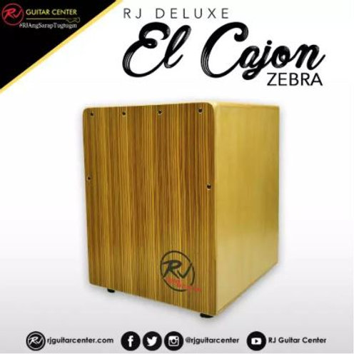 RJ Deluxe El Cajon (Walnut, Zebra)