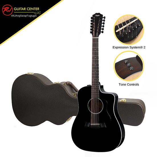 Taylor 250ce BLK DLX 12 String
