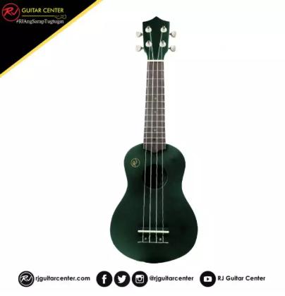 RJ Deluxe Ukulele Boracay - Dark Green