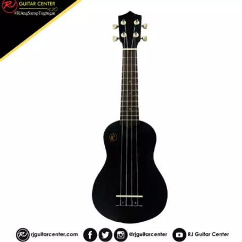 RJ Deluxe Ukulele Boracay - Black