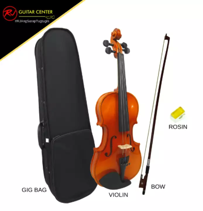 RJ Basics 1/2 Violin Package