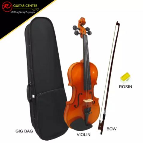 RJ Basics 1/2 Violin Package