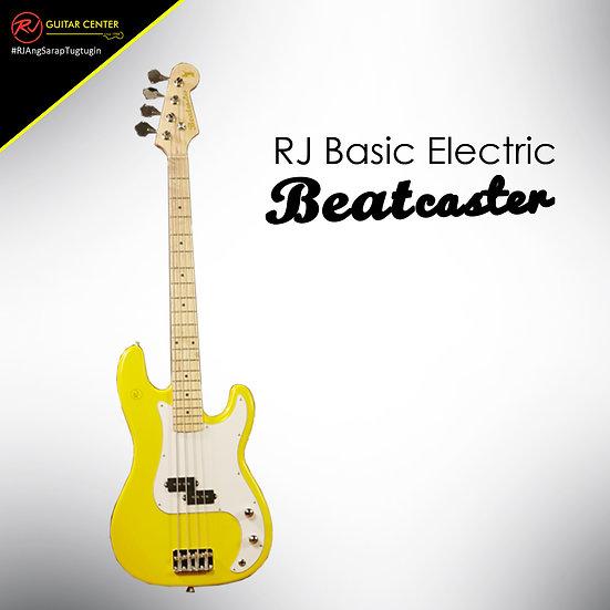 RJ Basic Electrics - Beatcaster Bass Guitar Yellow