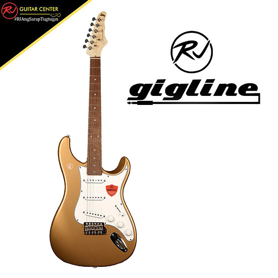 RJ Gigline - Skycaster - (Golden Mesa White Pickguard)