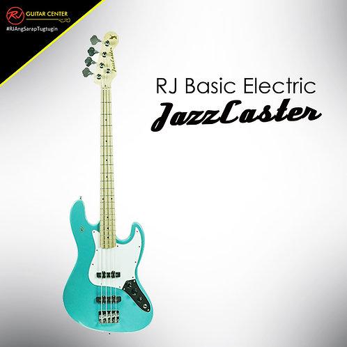 RJ Basic Electrics - Jazzcaster Bass Surf Green