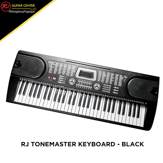 RJ Tonemaster Keyboard - Black