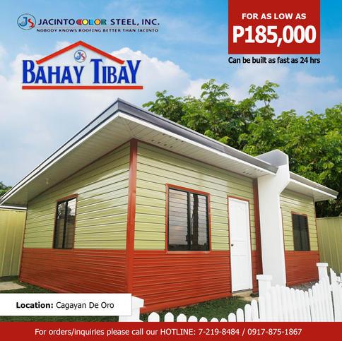 Bahay Tibay 24 sqm