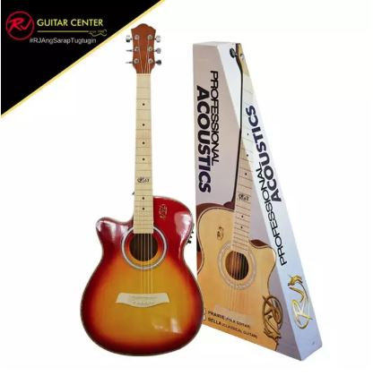 RJ Professional Acoustics - Cherry Sunburst