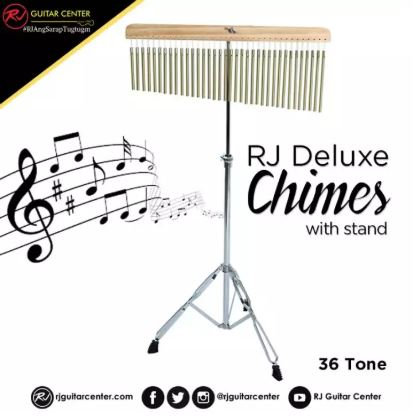 RJ Deluxe Chimes 36-Tone with Stand