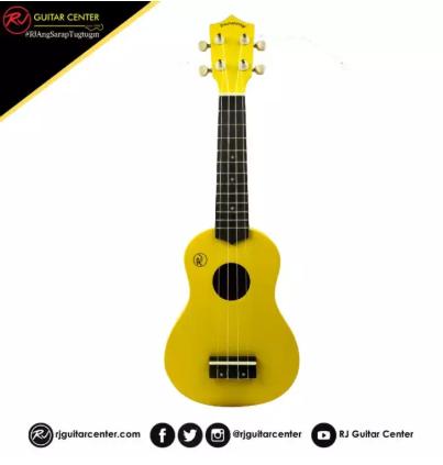 RJ Deluxe Ukulele Boracay - Yellow