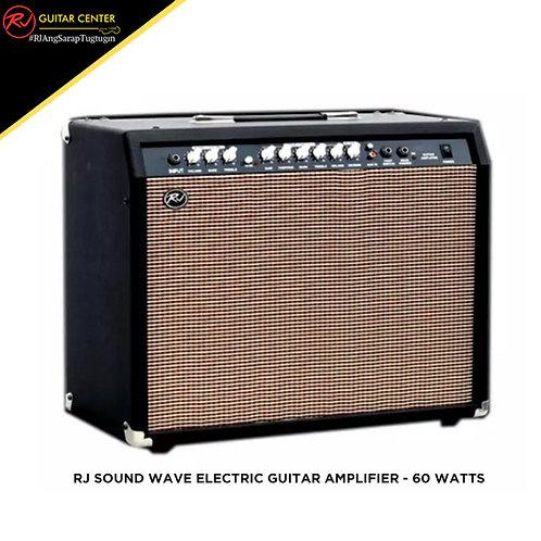 RJ Sound Wave Electric Guitar Amplifier - 60 Watts