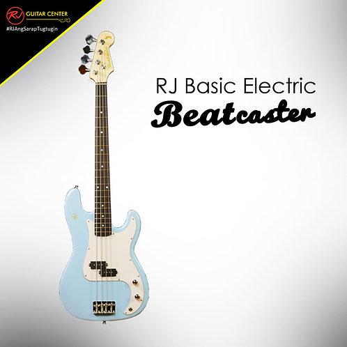 RJ Basic Electrics - Beatcaster Bass Guitar Sonic Blue