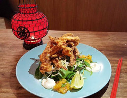 Our Spicy Squid Special! 🐙😍