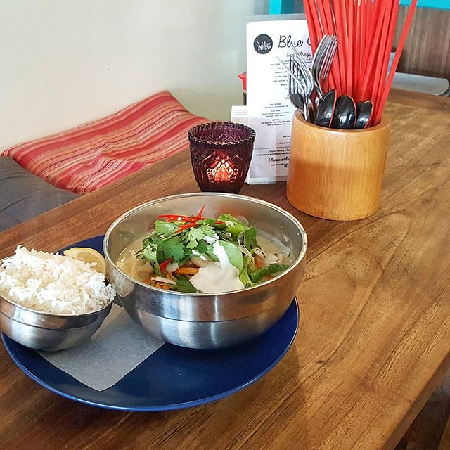 The classic Blue Ginger Thai Chicken Curry 🌿🍜