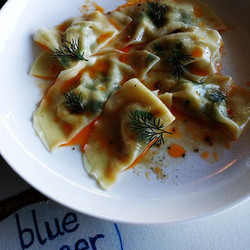 Scallop & Ginger Dumplings with Szechuan Chilli Oil 💥_#scallyfestspecial #handmadewithlove💙 #kaimo