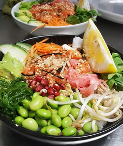 You know summer's here when our Poke Bowls fly out the door! ✨ These bowls are the essence of summer