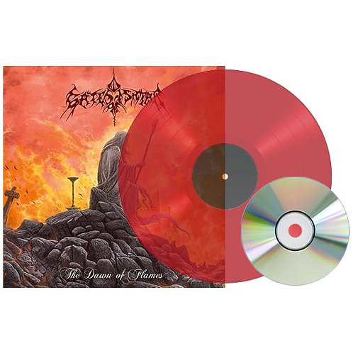 Gates Of Ishtar - The Dawn Of Flames Red Vinyl LP