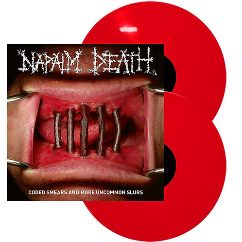 Napalm Death - Coded Smears And More Uncommon Slurs Red Vinyl 2LP