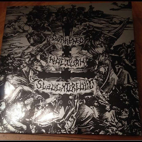 Darkened Nocturn Slaughtercult - Follow The Calls For Battle Clear Vinyl LP
