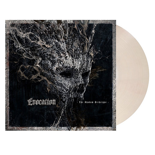Evocation - The Shadow Archetype Salmon Clear Vinyl LP