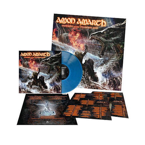 Amon Amarth - Twilight Of The Thunder God Blue Vinyl LP