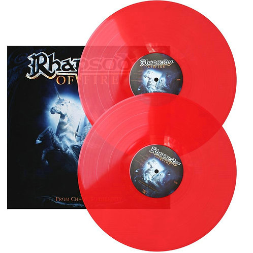 Rhapsody Of Fire - From Chaos To Eternity Red Vinyl 2LP