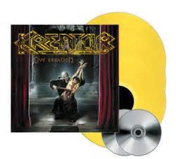 Kreator - Live Kreation Yellow Vinyl 3LP