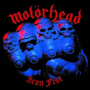Motorhead - Iron Fist Black Vinyl LP
