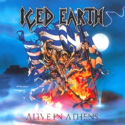 Iced Earth - Alive In Athens CD Digipak