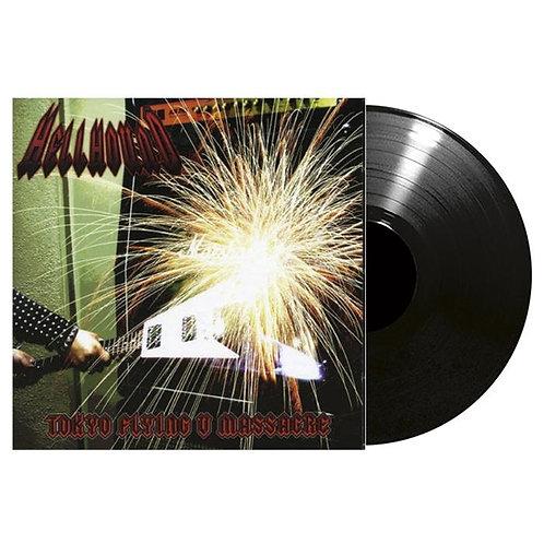 Hellhound - Tokyo Flying V Massacre Black Vinyl LP
