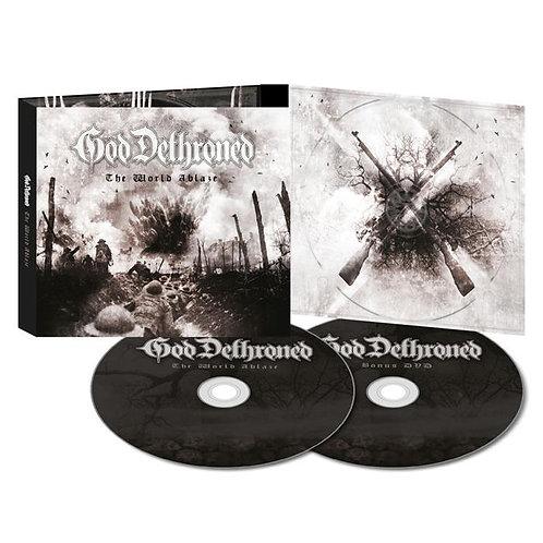 God Dethroned - The World Ablaze 2CD Digipak