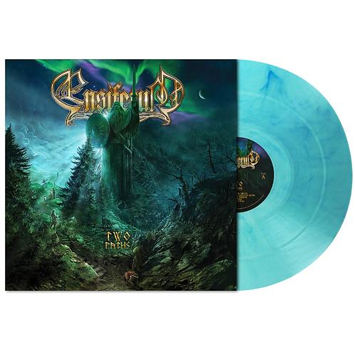 Ensiferum - Two Paths Blue Frost Clear Marble Vinyl LP Ltd 100
