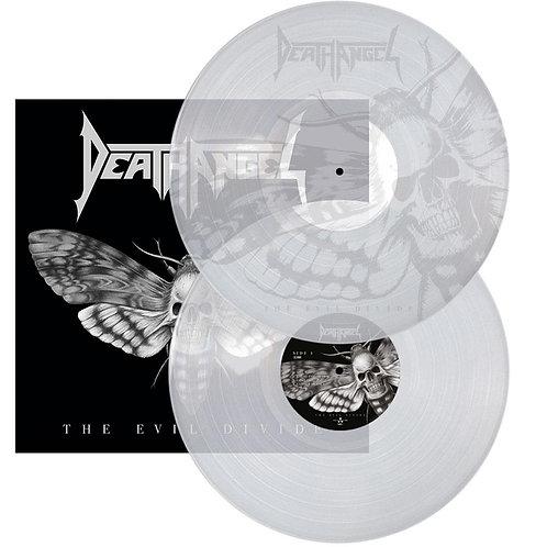 Death Angel - The Evil Divide Clear Vinyl 2LP