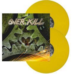 Overkill - The Grinding Wheel Yellow Vinyl 2LP